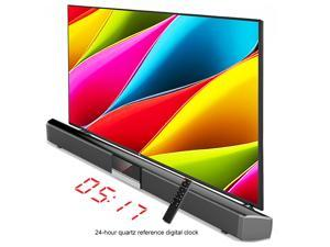 Bluetooth Sound Bar TV Speaker TV Sound Bar Wired and Wireless Bluetooth Home Surround SoundBar for PC Theater TV Speaker Built-in Subwoofers Hifi Stereo Column Surround Soundbar with Remote