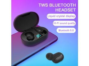 sport earbuds acoustic engineering sweatproof Waterproof Bass Stereo Intelligent Voice Assistant single ear connection at the same time Bluetooth 5.0 in-ear Wireless Headset