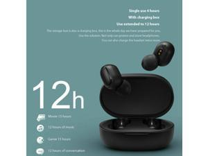 IPX6 waterproof portable mini earbuds stereo surround Hi-Fi wireless earbuds LED digital power display bluetooth headset in-ear wireless earphone