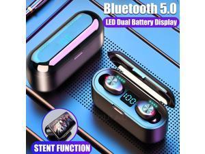 SIROKA-IPX6 waterproof portable mini earbuds stereo surround Hi-Fi wireless earbuds LED digital power display bluetooth headset in-ear wireless earphone