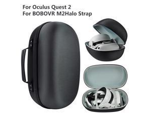 EVA Hard Case for BOBOVR M2 Strap for Oculus Quest 2 Halo Strap Improvements VR Accessories for BOBOVR M2 Case Bag