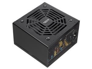 Super Flower Legion Gold HX 650W 80+ Gold, Ultra Flexible Flat Ribbon Cables, LLC & DC-DC Design, Semi-passive Fan Operation, Non-Modular Power Supply, HLB Fan, 5 Year Warranty, SF-650P14XE(HX)(650W)