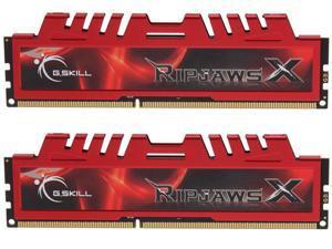 G.SKILL Ripjaws X Series 16GB (2 x 8GB) 240-Pin DDR3 SDRAM DDR3 1866 (PC3 14900) Desktop Memory Model F3-14900CL10D-16GBXL