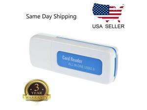 All In One Micro SD to USB Multi-Card Memory Card Adapter Reader Supports 256GB