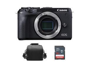 CANON EOS M6 Mark II Body Black + Camera Bag + 16GB SD card
