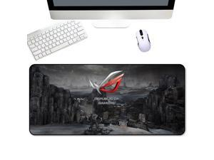 Xfxdbt Non-Slip Rubber Base Mouse Mat,Extra Large Comfortable Touch Durable Mouse Pad,Smooth Surface Washable Cloth Mice Mat,Improves Speed and Precision Mouse Pad F 900x400x5mm