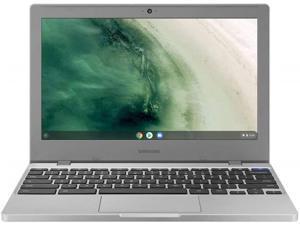 "Samsung Chromebook 4 11.6"" HD Laptop, Intel Celeron Processor N4000, 4GB RAM 32GB eMMC, Gigabit Wi-Fi,Bluetooth, Chrome OS, Platinum Titan Silver"