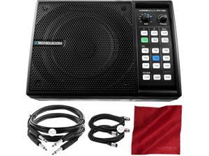 TC-Helicon Voicesolo FX150 Compact Personal PA and XLR Cable and Basic Bundle