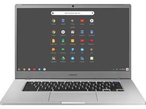 """Samsung 4+ Chromebook 15 Laptop Computer 15.6"""" FHD WLED Display Intel Celeron Processor N4000 4GB RAM 128GB eMMC USB-C WiFi Webcam Chrome OS"""