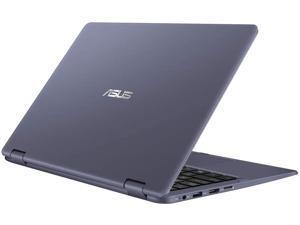 "Asus Vivobook Flip 11 2-in-1 Thin and Light Laptop 11.6"" HD Touchscreen LED Intel Celeron N3350 4GB RAM 64GB eMMC Office 365 WiFi HDMI Win 10"