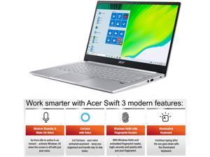 """Acer Swift 3 Thin & Light Business Laptop, 14"""" FHD IPS, AMD 8-Core Ryzen 7 4700U , 8GB DDR4 512GB SSD, Fingerprint Backlit USB-C Win 10 Pro"""