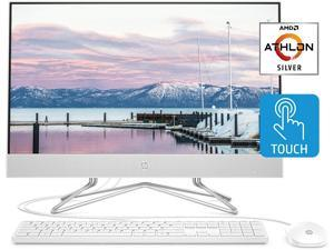 "HP 24 All in One Desktop Computer 23.8"" FHD IPS Touchscreen Display AMD Athlon Silver 3050U 32GB DDR4 1TB SSD DVD Webcam WiFi Keyboard Mouse Win 10"