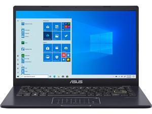 "Asus Vivobook E410MA Thin and Light Laptop 14"" HD Display Intel Celeron N4020 4GB RAM 128GB eMMC Intel HD Graphics 600 Win10 (Blue)"