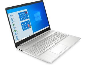 "HP 15 Laptop Computer 15.6"" FHD IPS Touchscreen Display 10th Gen Intel Quad-Core i7-1065G7 12GB DDR4 256GB SSD WiFi Webcam HP Fast Charge USB-C Win 10"