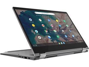 """Lenovo Flex 5 2 in 1 Chromebook Computer 13.3"""" FHD Touchscreen Display 10th Gen Intel Core i3-10110U 8GB DDR4 128GB SSD Webcam Backlit Chrome OS"""