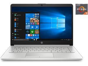 "HP 14 Laptop 14"" HD Micro-Edge Display AMD Ryzen 3 3250U 4GB DDR4 1TB HDD USB-C WiFi Webcam Google Classroom Compatible HP Fast Charge Win 10"