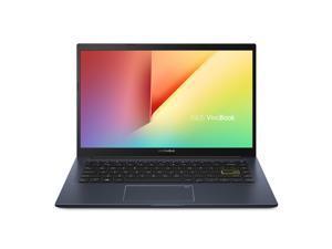 "Asus VivoBook 14 Thin and Light Laptop 14"" FHD Display AMD 4-Core Ryzen 5 3500U 8GB RAM 256GB SSD Backlit Keyboard Fingerprint USB-C HDMI Wifi6 Harman Win10"