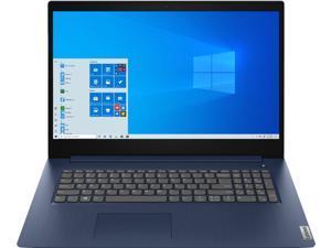 "Lenovo IdeaPad 3 17 Business Laptop 17.3"" HD+ Display 10th Gen Intel Quad-Core i5-1035G1 8GB RAM 1TB HDD Intel UHD Graphics Fingerprint Reader Dolby Audio HDMI WiFi HD Webcam Win10 Blue"