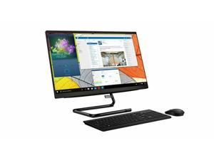 """Lenovo IdeaCentre A340 24 All-in-One Desktop Computer 23.8"""" FHD IPS Touchscreen IPS Display Intel Quad-Core i3-9100T 8GB DDR4 256GB SSD 1TB HDD DVD HDMI WiFi Keyboard Mouse Win 10"""
