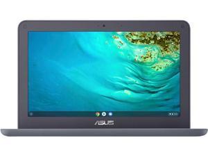 "ASUS Chromebook Laptop Computer 11.6"" HD Anti-Glare Display Media Tek 4-core MT8173C Processor 4GB RAM 32GB eMMC 128GB SD card Type-C HDMI Wifi5 HD Webcam Chrome OS"