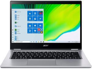 "Acer Spin 3 2 in 1 Laptop 14"" FHD IPS Touchscreen Intel Quad-Core i5-1035G1  8GB DDR4 256GB SSD Fingerprint Backlit Webcam Thunderbolt Win 10"