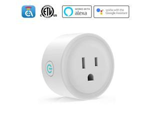 Avatar Controls Alexa Smart Plugs, WiFi Outlet Socket, Smart Outlets Remote Control Timer/On/Off Switch, Work with Google Home/IFTTT, APP Control, ETL FCC Listed