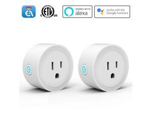 Avatar Controls Alexa Smart Plugs, WiFi Outlet Socket, Smart Outlets Remote Control Timer/On/Off Switch, Work with Google Home/IFTTT, APP Control, ETL FCC Listed (2 Pack)