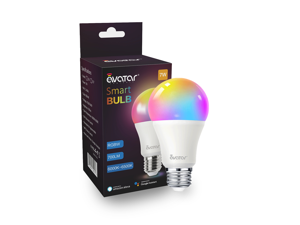 Avatar Controls Smart LED Light Bulb, Alexa Light Bulbs WiFi Dimmable Work with Google Home/Amazon Alexa RGBW Color Changing Lights, No Hub Required  7W E26 E27 A19
