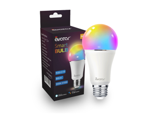 Avatar Controls Smart LED Light Bulb, Alexa Light Bulbs WiFi Dimmable Work with Google Home/Amazon Alexa RGBW Color Changing Lights, No Hub Required 9W E26 B22