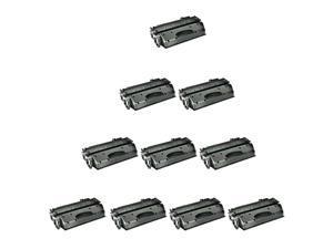 10 PK CE505X 05X HY Toner Cartridge For HP LaserJet P2050 P2055n P2055dn