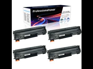4PK Toners CE278A Replace for HP 78A Toner Cartridge LaserJet M1536DNF P1606