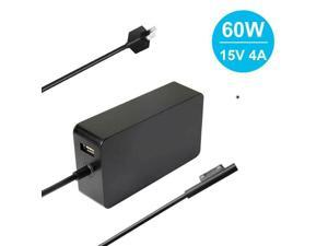 For Microsoft Surface Pro 7 3 4 5 6 Power Adapter 65W Laptop Charger Replacement