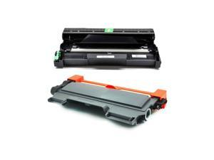 2PK TN-450 DR-420 Combo for Brother DR420 Drum TN450 Toner Cartridge MFC-7860DW