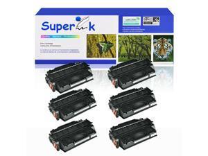 6PK CF280X Black Toner Cartridge For HP 80X Laserjet Pro 400 M401d M401n M425dw