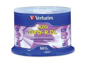 Verbatim DVD R DL 8x 8.5GB Spindle 50/PK 97000