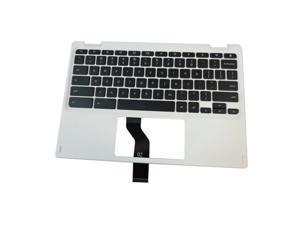 Acer Chromebook CB5-132T Laptop White Upper Case Palmrest & Keyboard