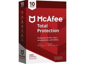 McAfee Total Protection for 10 Devices (1-10 MTP00ESTXRAA