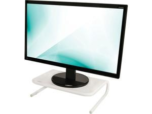 Staples Standard Steel Monitor Stand White 2712649