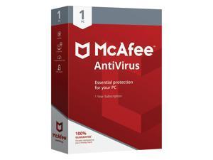 McAfee AntiVirus for 1 User, Windows, Boxed MAB00EST1RAA
