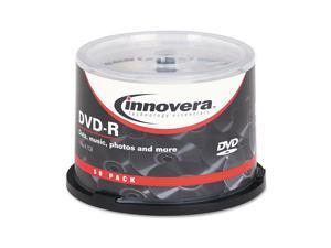 Innovera DVD-R Discs 4.7GB 16x Spindle Silver 50/Pack 46850