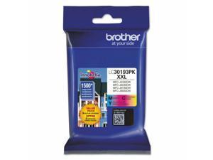 Brother LC30193PK Innobella High-Yield Ink 1500 Page-Yield Cyan/Magenta/Yellow