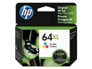 HP 64XL Tri-Color High Yield Original Ink Cartridge 415 Page-Yield N9J91AN