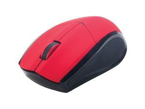 Staples 25567 Wireless Optical Mouse Red 1181111