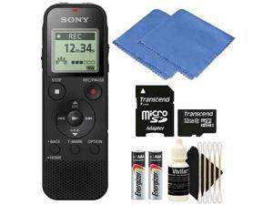Sony ICD-PX470 Stereo Digital Voice Recorder Kit w/ Built-In USB Voice Recorder