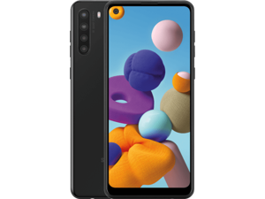 Samsung Galaxy A21 SM-A215W Black  (Unlocked) Canadian Model Grade A (9/10) Best Price