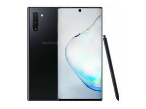 Samsung Galaxy Note 10 SM-N970U 256GB Aura Black Verizon + GSM Unlocked Smartphone - B Grade