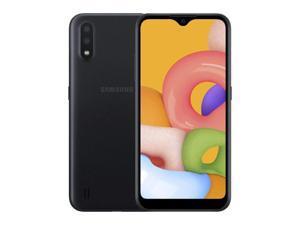 Samsung Galaxy A01 SM-A015 16GB Black Verizon Smartphone - Grade B