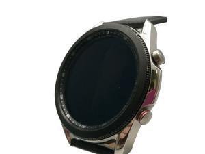 Samsung Galaxy Watch3 SM-R845U 8GB Silver Cellular Sport 45mm Leather Band
