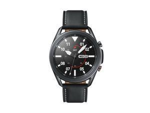 Samsung Galaxy Watch3 SM-R845U 8GB Cellular Sport 45mm Mystic Black Leather Band