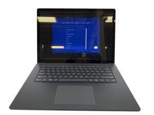 "Microsoft Surface Laptop 3 15"" Black 2019 1.3GHz Intel Core i7 16GB 256GB SSD"